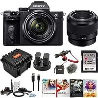 Sony a7 III Full Frame Mirrorless Interchangeable Lens Camera w/ 28-70mm & FE 50mm f/1.8 Two Lens Kit