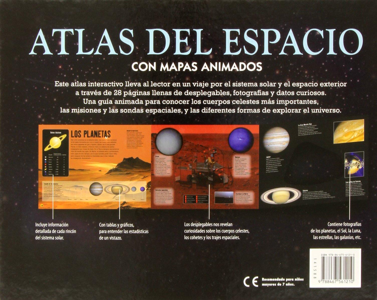 Atlas del espacio con mapas animados: I. G. Gass: 9788467561210: Amazon.com: Books