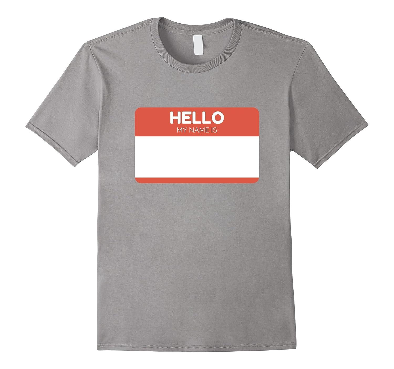 hello my name is sticker t shirt name tag work badge tee th teehelen