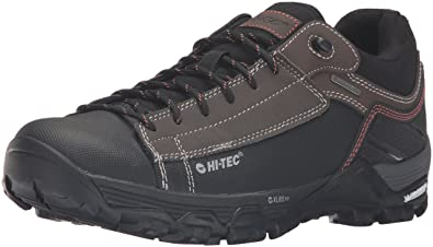Hi-Tec Mens Trail OX Low I Waterproof-M Hiking Boot, Chocolate/