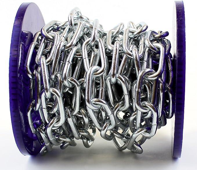 Solide cha/îne en acier plaqu/é zinc brillant Bobine enti/ère et coupes /à la demande