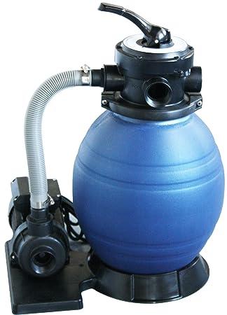 Filtro de arena para piscina de Well2wellness, filtro D300, para piscinas de montaje rápido y piscinas pequeñas: Amazon.es: Jardín