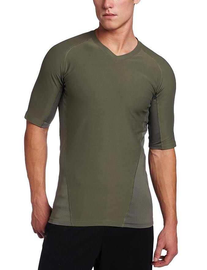 BlackHawk Hombres de Manga Corta Cuello de Pico Engineered Fit Shirt, Hombre, Verde follaje: Amazon.es: Deportes y aire libre