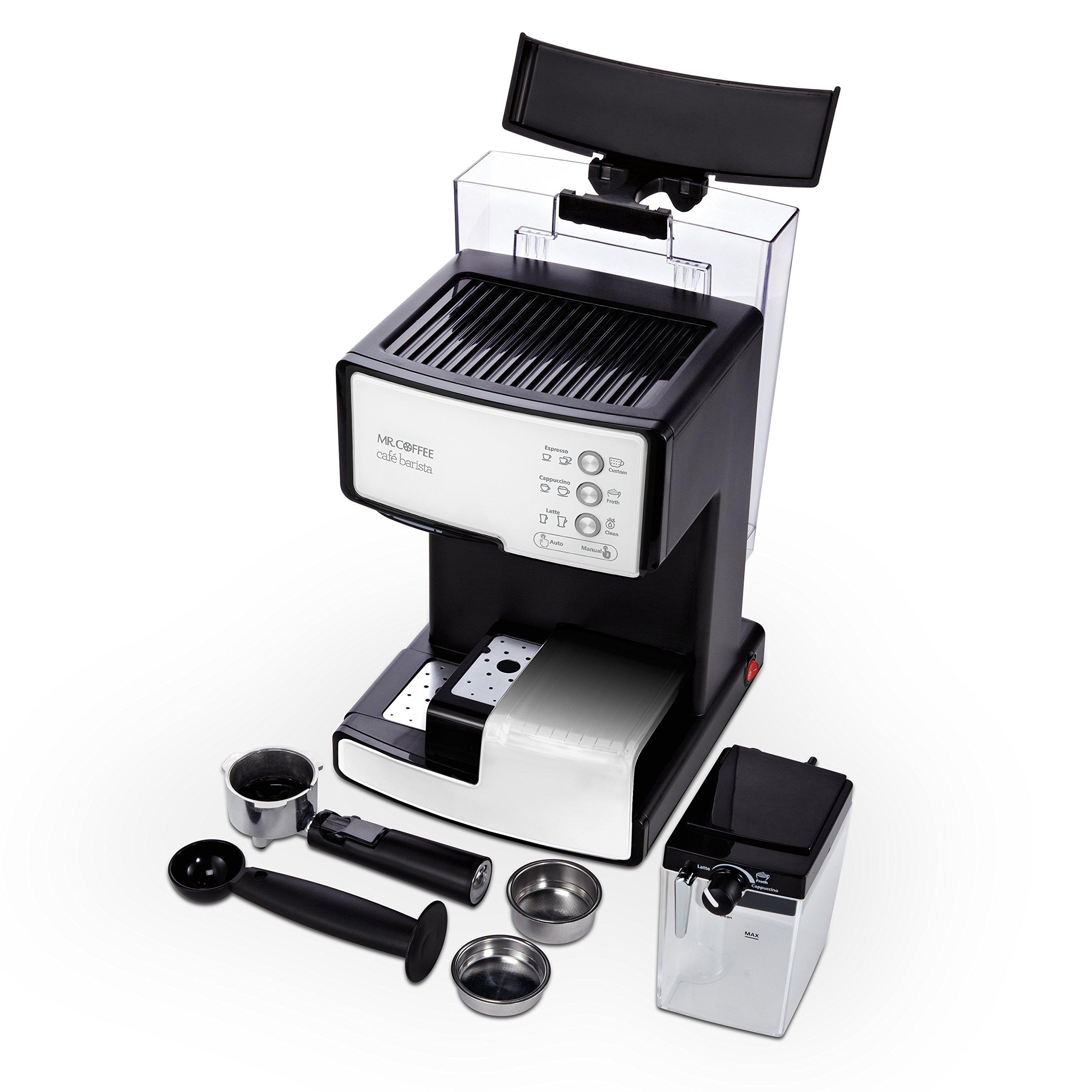 Mr. Coffee BVMC-ECMP1102 Cafe Barista Espresso Maker Machine,  White by Mr. Coffee (Image #2)