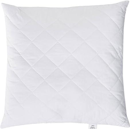 Zollner 115 Microfibre Anti-Allergy Pillow with Zip Closure, Various Sizes, White, 80 x 80 cm: Amazon.de: Küche & Haushalt