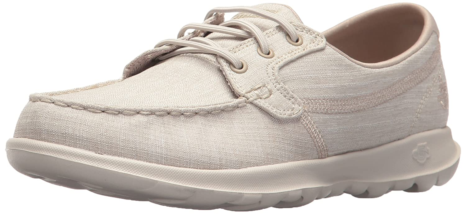 Skechers 19994 Go Lite-Isla, Walk (Taupe) Lite-Isla, Chaussures Bateau Femme Beige (Taupe) c7d606f - shopssong.space