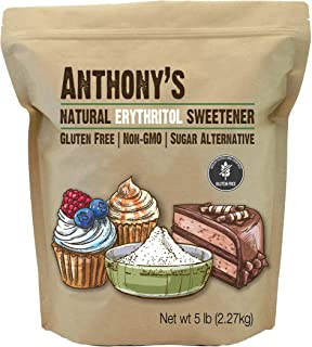 product image for Anthony's Erythritol Granules, 5 lb, Non GMO, Natural Sweetener, Keto & Paleo Friendly