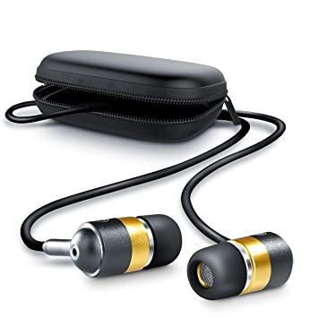 CSL - Auriculares In-Ear de aluminio 630 de gama alta | auriculares con EP Power Bass | diseño reducción de ruido incl. bolsa de protección: Amazon.es: ...