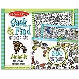Melissa & Doug Seek & Find Sticker Pad- Animals Sticker Sets & Activity Pads