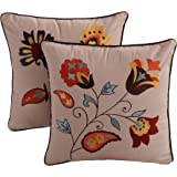 Greenland Andorra Dec. Pillow Pair Accessory-Multi, Multicolor