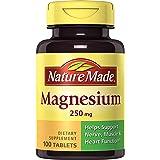 海外直送品Nature Made Magnesium, 250 mg, 100 tabs by Nature Made
