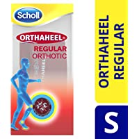 Scholl Orthaheel Regular Orthotic Insoles, Small UK Shoe Size 5-7