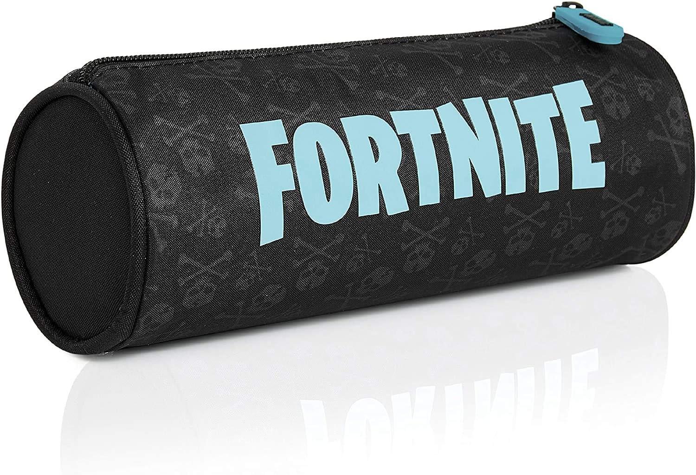 Fortnite Estuche Escolar, Estuches Escolares Para Niños 3 Diseños Disponibles, Material Escolar Producto Oficial Fortnite, Regalos Originales Para Niños Niñas Adolescentes (Azul)
