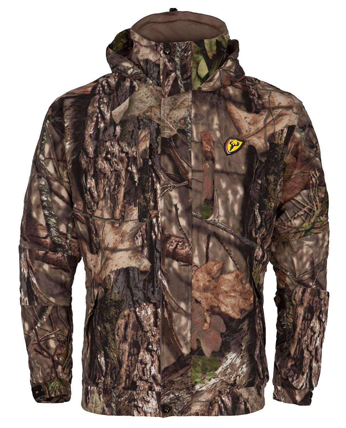 10c9208f6a483 Amazon.com : Scent Blocker Outfitter Jacket, Mossy Oak Country : Sports &  Outdoors
