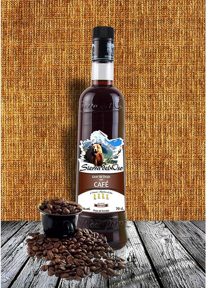 Licor de Orujo con Café Sierra del Oso 700 ml, 3 botellas: Amazon.es: Alimentación y bebidas