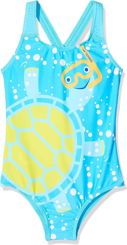 Speedo Tommy Turtle Digital Crossback SWS Traje de Baño Infant Female