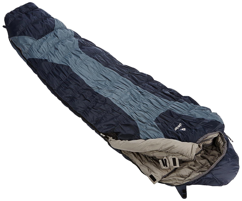Deuter Schafsack Exosphere -8° Reg - Saco de dormir momia para acampada, color Gris, talla 205 cm Left: Amazon.es: Deportes y aire libre