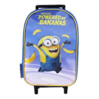 Minions Powered by Bananas Cartable, 42 cm, Bleu (Blue)