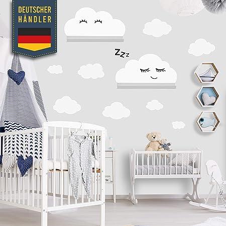 Stickers Muraux Nuages Autocollant Adapte A Ikea Ribba Mosslanda