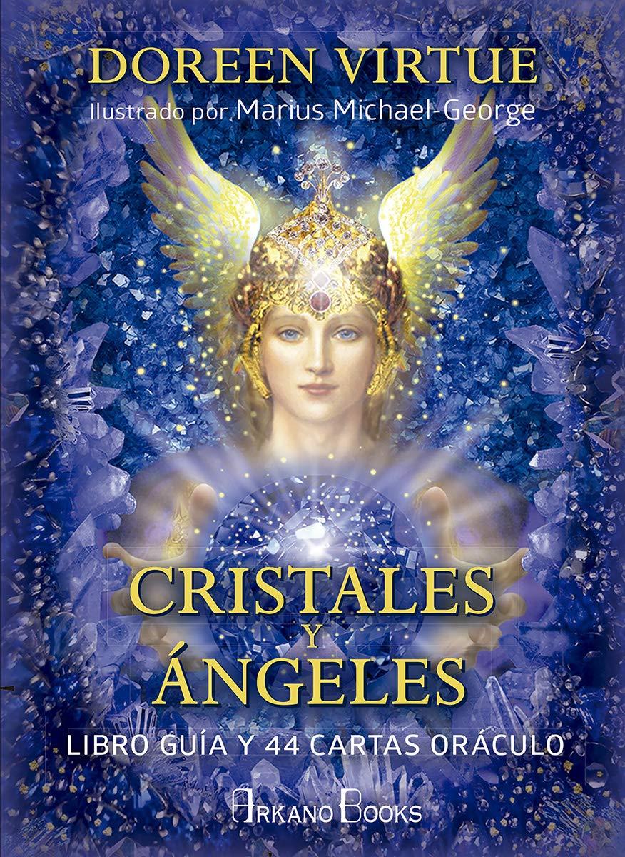 Cristales y Angeles. Libro guia y 44 cartas oráculo: Libro ...