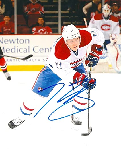 outlet store 220d1 ba888 BRENDAN GALLAGHER signed MONTREAL CANADIENS 8X10 photo w/COA ...