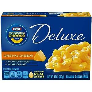 Kraft Delux Macaroni & Cheese, Original, 14 oz