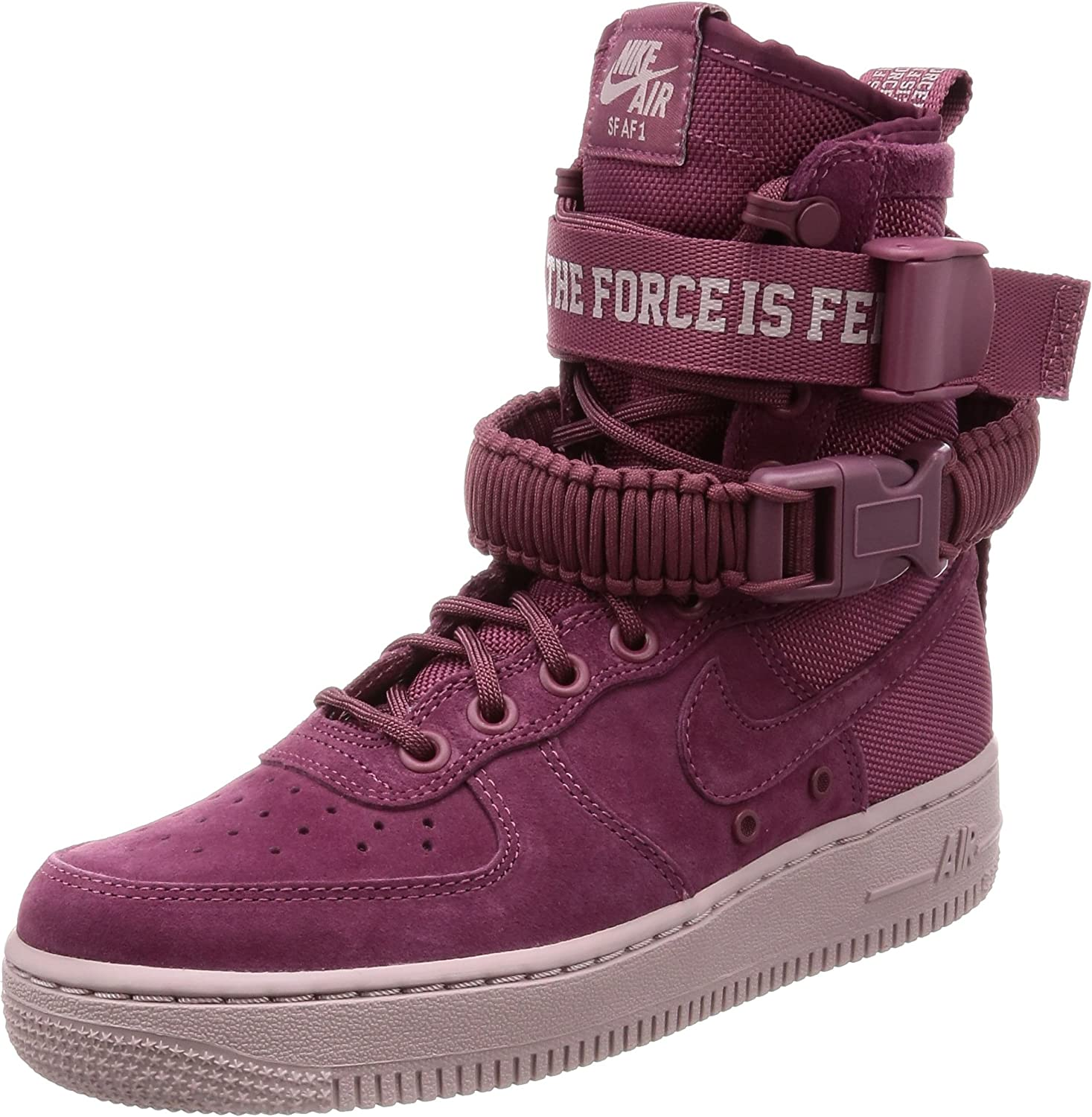 Amazon Com Women Nike Sf Air Force 1 Mid Fashion Sneakers