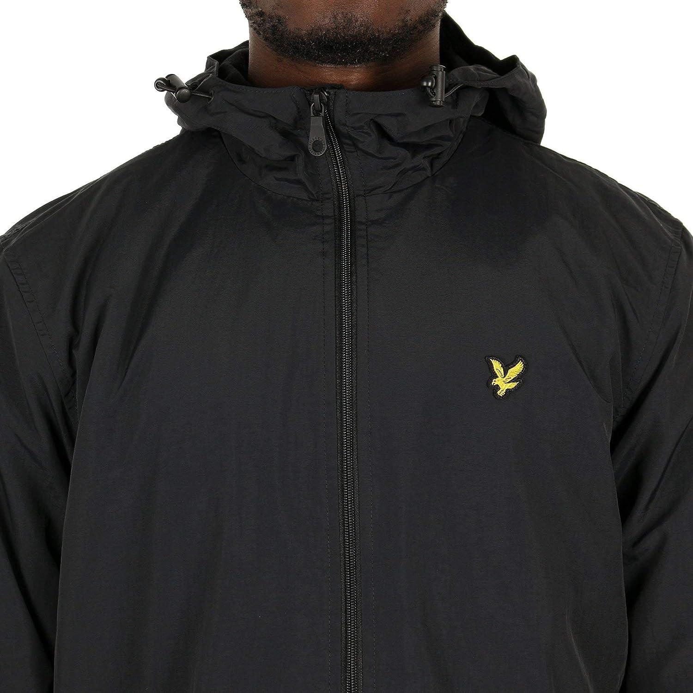 Lyle & Scott Men's Hooded Jacket True Black