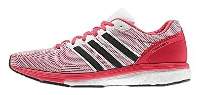 huge discount cd609 2d693 adidas Adizero Boston 5 Tsf W, Chaussures de Running Entrainement Femme,  Red, Blanc