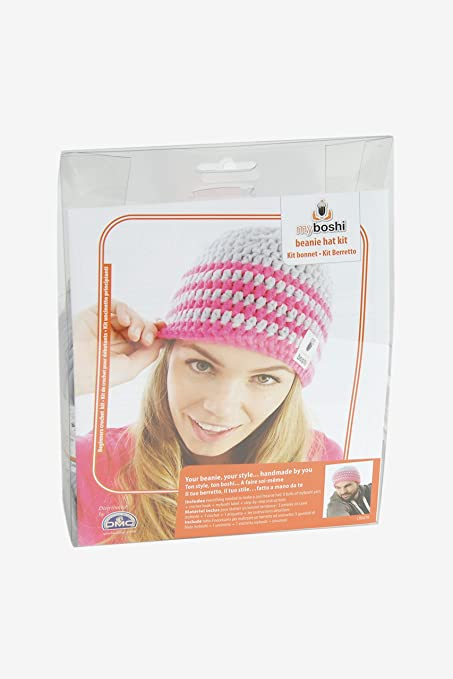 d9a55854841 Image Unavailable. Image not available for. Colour  DMC Myboshi Beanie Hat  Kit