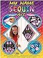 Art Sequin - KAD1009 - Peinture Au Numéro - Motif Bunny - My Name Sequin - Coloris Aléatoire