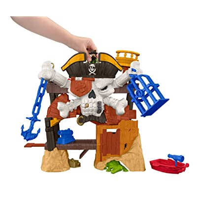 Fisher-Price Imaginext Blackbeard's Lair: Toys & Games