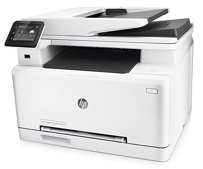 Amazon.com: HP LaserJet Pro M277dw Wireless All-in-One Color Printer ...