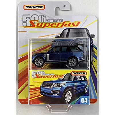 Matchbox 50th Anniversary Superfast Limited Edition - '18 Range Rover LWB (Blue): Toys & Games