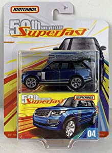 Matchbox 50th Anniversary Superfast Limited Edition - '18 Range Rover LWB (Blue)