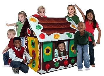 Bazoongi Gingerbread Play Tent  sc 1 st  Amazon UK & Bazoongi Gingerbread Play Tent: Amazon.co.uk: Toys u0026 Games