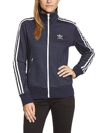 000fdf6cc0ca9 Adidas Firebird Women's Tracksuit Top legend ink s10, 36, M30463: Amazon.co. uk: Sports & Outdoors