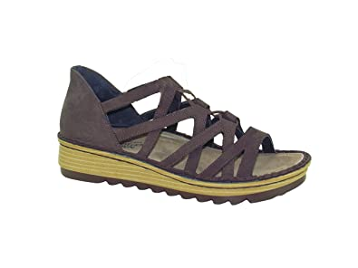 1dfd5d2c143b Image Unavailable. Image not available for. Color  Naot Footwear Women s  Yarrow Coffee Bean Nubuck Ink Leather Sandal