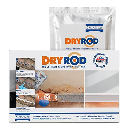 Dryrod damp proofing rods box of 50 next generation rising dryrod damp proofing rods box of 50 next generation rising damp treatment from the solutioingenieria Images