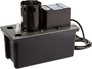 Little Giant 553201 Automatic Condensate Removal Pump with Safety Switch, 1/18 HP, 115V, 2