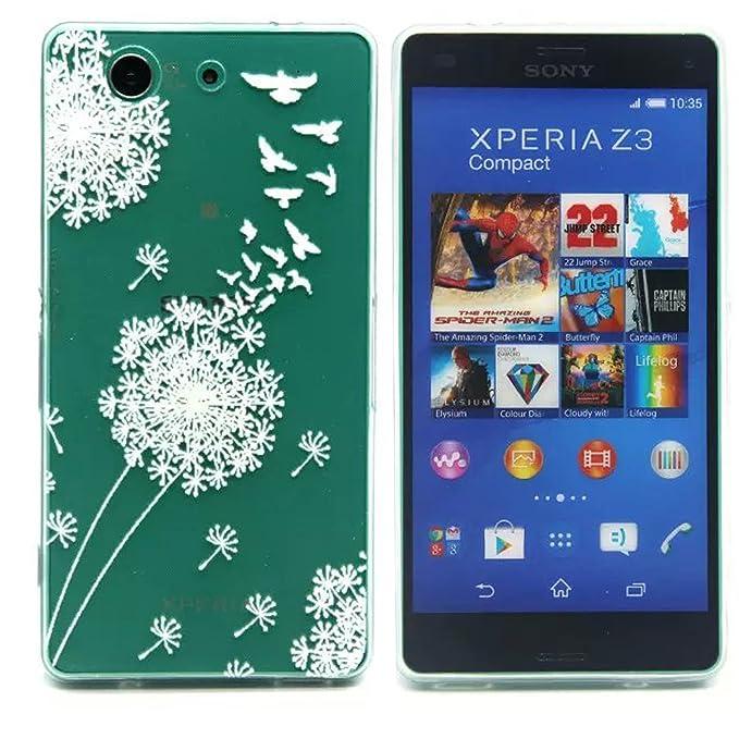 Para Sony Xperia Z3 Compact/Z3 mini 4.6 pulgadas, carcasa de ...