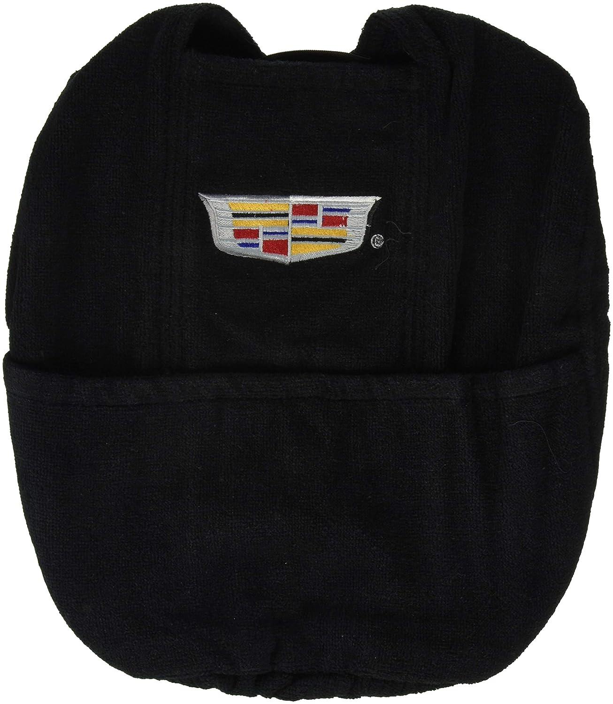 Seat Armour KACADBS14-18 Black Console Cover Logo for 2014-2018 Cadillac Escalade with Bucket Seats