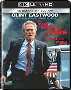 In the Line of Fire [Blu-ray] (Bilingual)