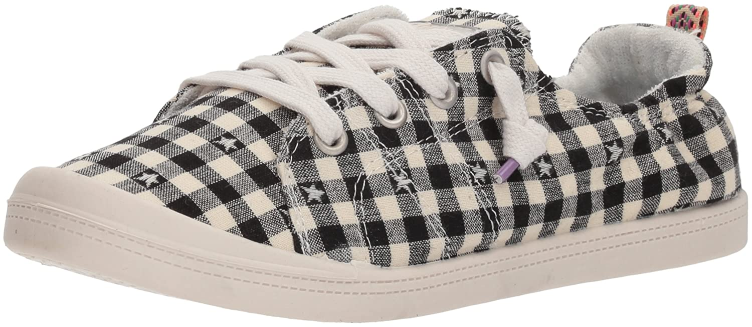 Sugar Women's Genius Casual Fashion Sneaker B0764WJ7QP 6.5 B(M) US|Black Star Gingham