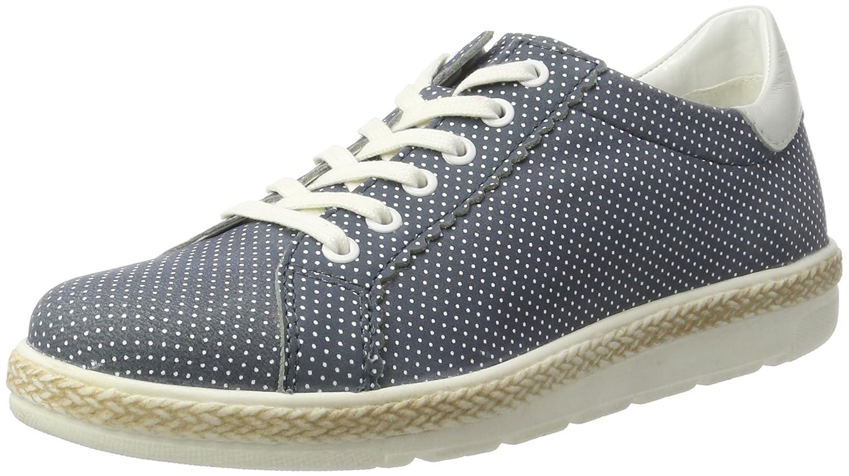 Bugatti J97011l, Zapatillas para Mujer 37 EU|Azul (Jeans 455)