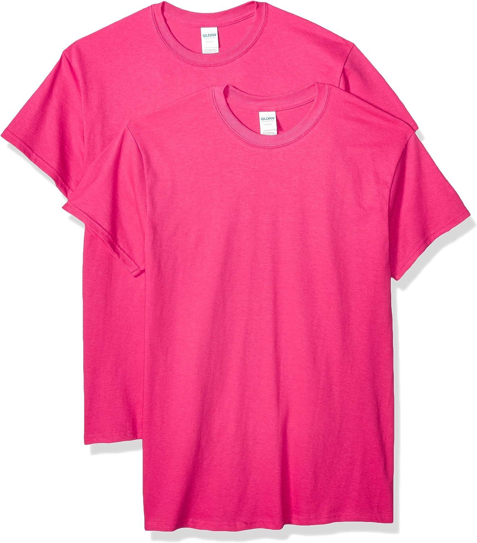 Gildan Men's Heavy Cotton Adult T-Shirt, 2-Pack