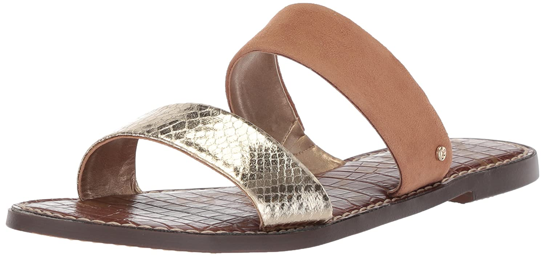 Sam Edelman Women's Gala Slide Sandal B07745LHZK 10 B(M) US|Jute/Golden Caramel