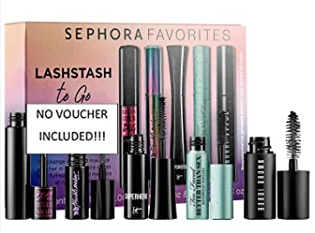 8daee33246e Image Unavailable. Image not available for. Color: Sephora Favorites  LashStash To Go Lash Stash 5 Mini Sample Trial Size Mascara Tubes No Voucher