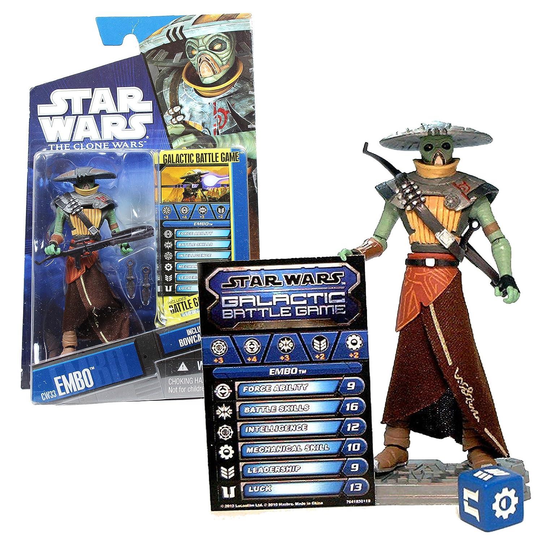 Star Wars 21468 Star Wars Embo aus The Clone Wars mit Battle Karte