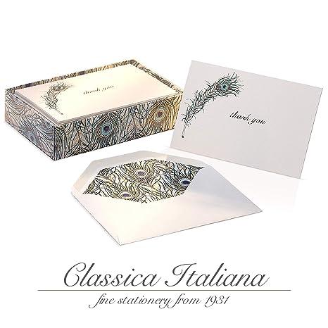 Amazon.com: Tarjetas de agradecimiento de lujo con sobres ...